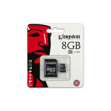 KINGSTON 8GB MICROSD CL4 SDC4/8GB