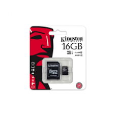 KINGSTON 16GB MICROSD CL10 SDC10G2/16GB