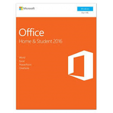 MS OFFICE 2016 -Fam/Etudiant-License (1 user)
